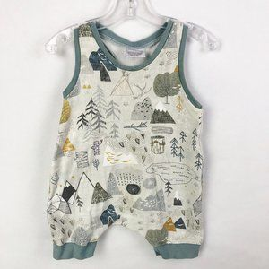 Olive.Me One Pieces - Olive.Me Handmade Organic Cotton Romper One Piece